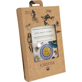 Forestia Heater Outdoor Maaltijd Vegetarisch 350g, Soya Meat Curry with Long Grain & Wild Rice